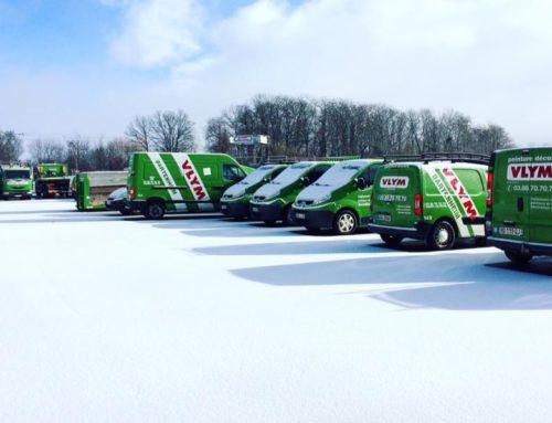 Notre beau parking ce matin…