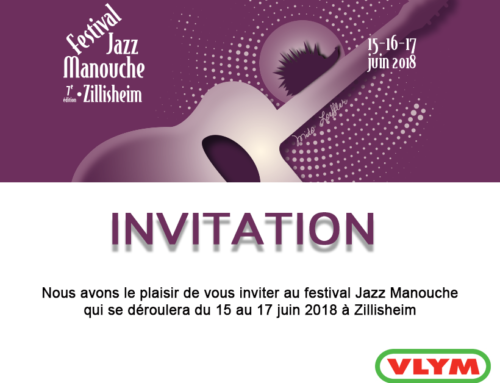Venez nombreux au Festival Jazz Manouche à Zillisheim du 15 au 17 juin 2018 !