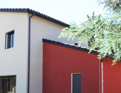 Les façades bicolores