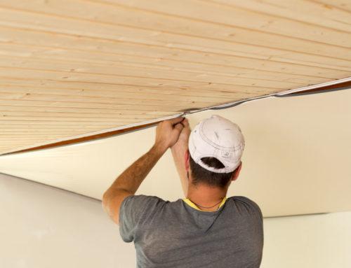 Quelle est la différence entre un plafond suspendu et un plafond tendu ?